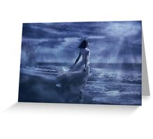 Moonlight Sonata Greeting Card