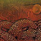 Snakescape Sunrise by SnakeArtist