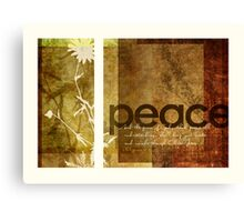 Peace | Philippians 4:7 Canvas Print