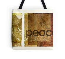 Peace | Philippians 4:7 Tote Bag