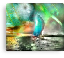 Sailing Through Concepts Canvas Print