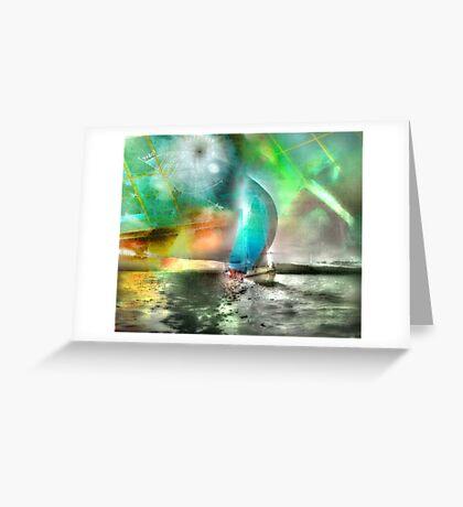 Sailing Through Concepts Greeting Card