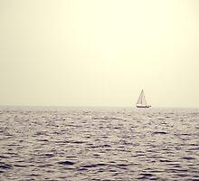 Adrift! A little boat adrift! by ©Maria Medeiros