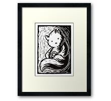 Safe in your arms Framed Print