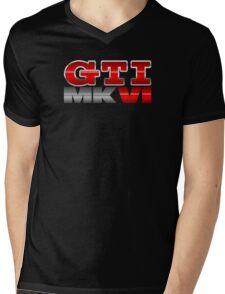 VW GTI MK6 Icon Mens V-Neck T-Shirt