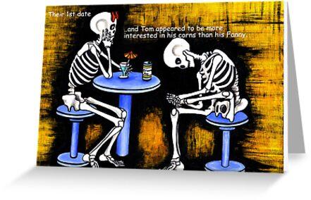 The Bones 3.   Acrylic painting. 116 views by Margaret Sanderson