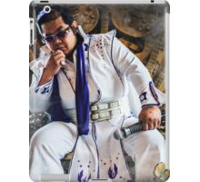 Jedi Elvis - Rock and Roll is coming. iPad Case/Skin