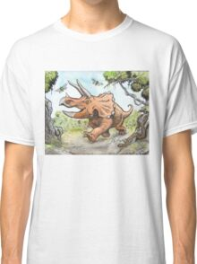 Happy Triceratops Classic T-Shirt