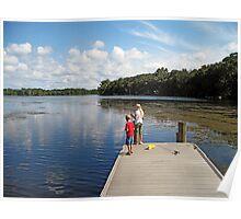 Martin Lake Parker, Florida Poster