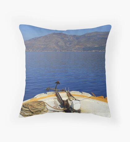 Land Ahoy! Throw Pillow