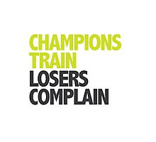 Champions Train Photographic Print