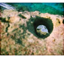 Sea in a hole Photographic Print