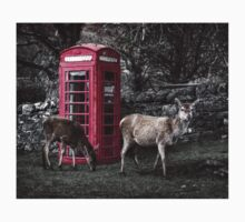 Deers @ Red Telephone Box (Kiosk 6) Kids Clothes