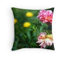 September Colours Throw Pillow