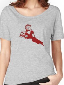 Halo Master Chief red Women's Relaxed Fit T-Shirt