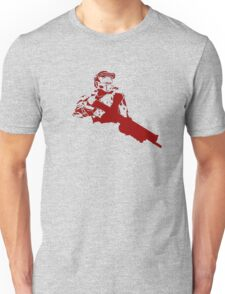 Halo Master Chief red Unisex T-Shirt