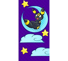 Umbreon in the Moon Photographic Print
