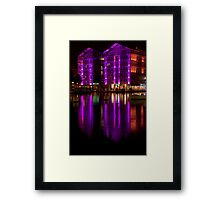 Building of light Framed Print