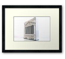 NYSE Framed Print