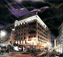 "San Francisco's Historic Union Square ""barchaProcess"" by barcha"