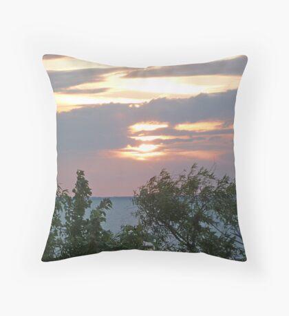 Currituck Sound II Throw Pillow