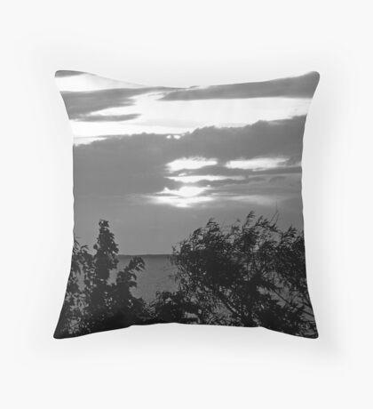 Currituck Sound III Throw Pillow
