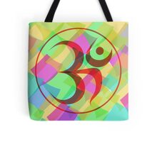 Aum Abstract Tote Bag