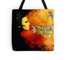 extracting colors Tote Bag