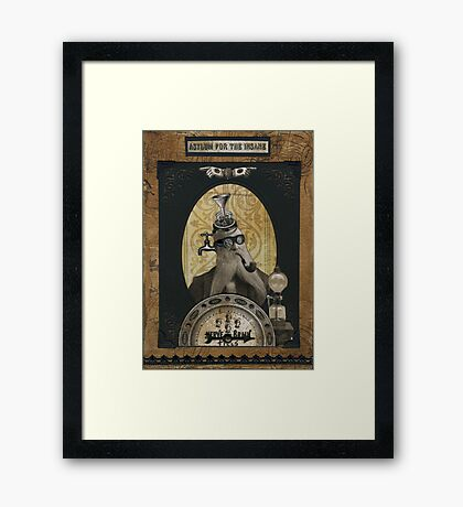 Obadiah Theremin, M.D. Framed Print