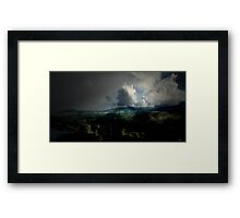 Fourth Movement: The Glen 1845. To the Sea. Framed Print