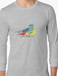 Birds Long Sleeve T-Shirt