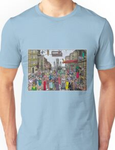 Funny TV and movie stars Unisex T-Shirt