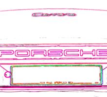 Porsche 911 3.2 Rear Sticker
