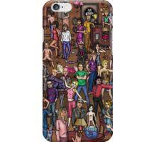 Music stars iPhone Case/Skin