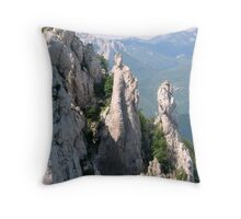 ANGEL OF THE MOUNTAIN Throw Pillow