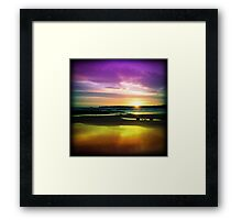 Colourful Reflection Framed Print