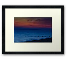 Bognor Regis Sunset Framed Print