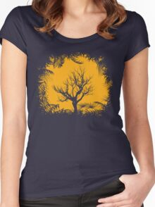 Tree Clearing Women's Fitted Scoop T-Shirt