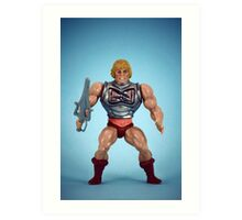 He-Man (battle damage) Art Print