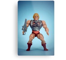 He-Man (battle damage) Metal Print