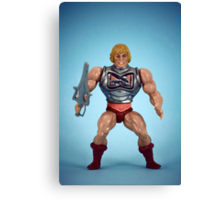 He-Man (battle damage) Canvas Print