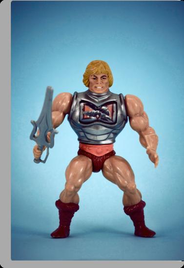 He-Man (battle damage) by Fanboy30