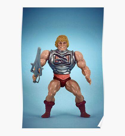 He-Man (battle damage) Poster