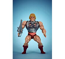 He-Man (battle damage) Photographic Print