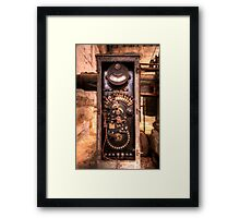 """HDR Study of """"The Machine"""" Framed Print"""