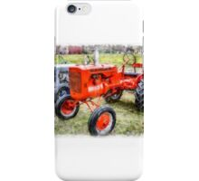 Vintage Allis-Chalmers Tractor Watercolor iPhone Case/Skin