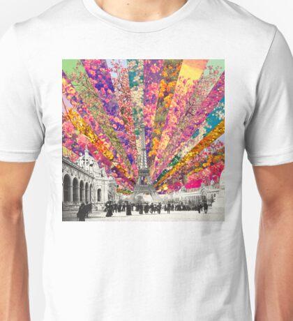 Vintage Paris Unisex T-Shirt
