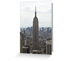 Empire State Building, Manhattan, New York, USA Greeting Card