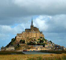Mont Saint-Michel  by Lanis Rossi