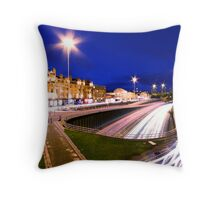 Charing Cross, Glasgow Throw Pillow